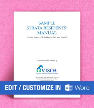 Sample Residents Manual